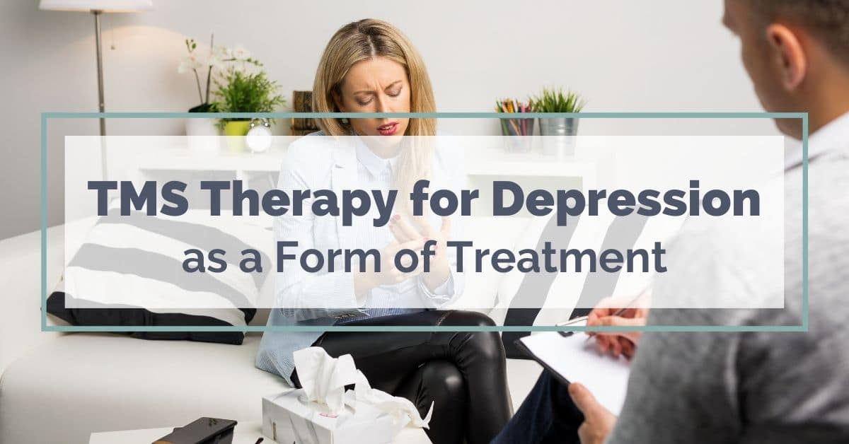 TMS therapy for depression